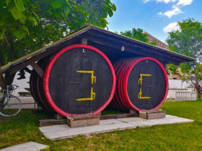 Romantické ubytovanie v sudoch Majer Malženice u Trnavy